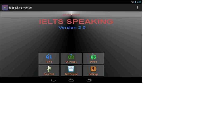 IELTS Speaking Practice App
